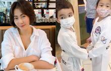 """Thu Minh """"dở khóc dở cười"""" kể chuyện quý tử mới 5 tuổi đã có bạn gái, cách dạy con khi bị bắt nạt gây chú ý!"""