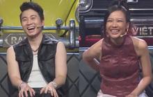 """2 học trò MCK - Tlinh đứng trước giây phút bị loại nhưng bộ đôi """"sui gia"""" Karik - Suboi lại chỉ mải cười vì quá phấn khích!"""