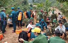 Tìm thấy thi thể 3 anh em ruột bị núi sạt lở vùi lấp ở Quảng Bình