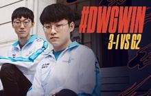 Báo thù G2 bằng màn hủy diệt chóng vánh, DAMWON Gaming biến CKTG 2020 thành Trung - Hàn Đại Chiến