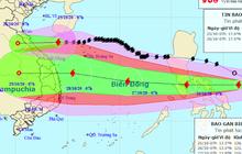 Bão số 8 đổ bộ Hà Tĩnh - Quảng Trị đêm 25/10, bão số 9 khả năng giật cấp 15 nối gót vào Biển Đông đêm 26/10