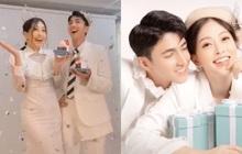Sau 3 năm yêu đương, Phương Nga - Bình An bất ngờ lộ clip hậu trường chụp ảnh cưới đầy ngọt ngào