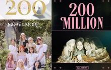 Nối đuôi nhau đạt 200 triệu lượt xem MV: Trong khi TWICE chật vật mất gần 5 tháng, còn BLACKPINK chỉ cần có 3 tuần!