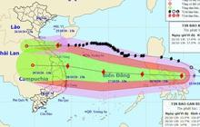 Bão số 8 suy yếu thành ATNĐ trước khi đổ bộ đất liền, bão số 9 giật cấp 15 di chuyển nhanh hướng vào miền Trung