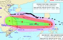 Bão số 9 giật cấp 14 và tiếp tục mạnh lên, nhiều khả năng đổ bộ vào các tỉnh từ Đà Nẵng đến Phú Yên