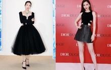 """Sao nữ trên thảm đỏ tuần qua: Váy đen dễ mặc là thế nhưng Tống Thiến vẫn bị """"réo tên"""""""
