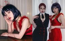 """Knet sốc nặng vì bộ 3 Kpop Star lột xác sexy nghẹt thở đi chơi Halloween, Lee Hi - Park Ji Min bị nghi """"dao kéo"""" vì như người khác"""