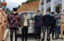 Giữa đêm, chặn bắt 3 ô tô chở 20 người nhập cảnh trái phép trên cao tốc Hà Nội - Hải Phòng