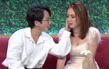 """Miko Lan Trinh khiến mọi người """"xanh mặt"""" khi làm nũng bạn trai trên sóng truyền hình"""