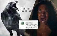 """Poster phim kinh dị về """"nghiệp quật"""" bị fan Việt chê """"phèn"""" vì lộ cả lỗi thiết kế sơ đẳng"""