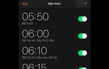 Tin xấu cho các bậc thầy ngủ nướng: Đặt nhiều báo thức cách nhau 5, 10 phút sẽ khiến bạn hối hận đấy
