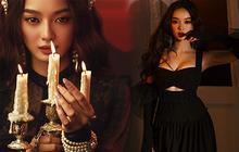 Kaity Nguyễn tung bộ ảnh Halloween chuẩn style Tiệc Trăng Máu, dân tình dán mắt vào vòng 1 khủng nóng hừng hực của cô nàng