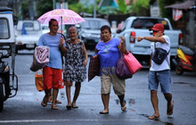Bão Molave khiến hàng nghìn người Philippines phải sơ tán