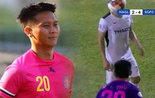 """Cầu thủ ném bóng vào mặt Hồng Duy bị cấm thi đấu hai trận, bị đánh giá là có """"hành vi bạo lực"""""""