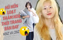 """So kè dàn thảm họa thời trang sân bay Cbiz - Kbiz: Đỉnh cao """"phèn chúa"""" gọi tên Trịnh Sảng, nhưng có bằng """"vấn nạn"""" của TWICE?"""