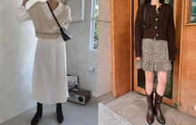 11 công thức váy + boots rõ xinh, các nàng ghim ngay để từ giờ đến cuối năm luôn mặc đẹp