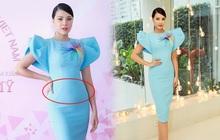 """Á hậu Kim Duyên đi làm giám khảo nhưng netizen chỉ tập trung vào """"chiếc váy phản chủ"""""""