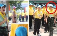 """Hoàng quý phi Thái Lan mắt đỏ hoe, rưng rưng khóc khi làm tình nguyện cùng câu chuyện nhỏ cho thấy phẩm chất cao quý """"gây sốt"""" MXH"""