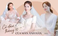Đại chiến váy cưới của cô dâu màn ảnh Hàn: Seohyun chanh sả nhưng có đọ được với Moon Chae Won, Go Ara?