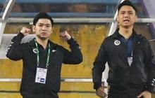 Chủ tịch 9x của Hà Nội FC ăn mừng hụt, hồi hộp đến mức không dám xem khi Hà Nội FC gặp khó
