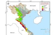 Báo động sạt lở đất nhiều tỉnh miền Trung lên mức rất cao