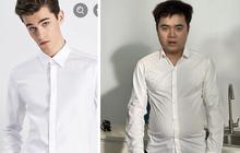 Thanh niên có cấu hình mặt tấu hài khiến các shop online khóc thét vì năng lực biến đồ đẹp thành... thảm hoạ thời trang