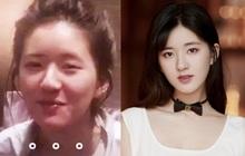 """Ăn nhầm phấn trang điểm, Triệu Lộ Tư """"dở khóc dở cười"""" khi lên thẳng top 1 Weibo với gương mặt sưng húp"""