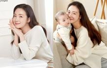 Choi Ji Woo gây xôn xao với diện mạo trong lần đầu lộ diện sau 5 tháng sinh con: Đúng là gái 1 con trông mòn con mắt!