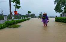 Dự báo thời tiết: Các tỉnh miền Trung có mưa to đến rất to, nguy cơ ngập lụt sâu diện rộng