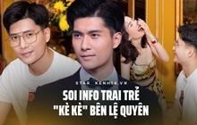 """Trai trẻ kè kè cạnh Lệ Quyên trước khi xác nhận ly hôn: """"Thị vệ"""" trong MV của Chi Pu, mỹ nam gây sốt Người Ấy Là Ai"""