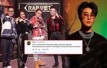 Rapper San E - producer Show Me The Money bình luận dưới tập 1 Rap Việt, dành sự tôn trọng đến dàn HLV và khen rapper Việt Nam quá tài năng!