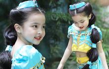 """Netizen phát cuồng vì con gái """"mỹ nhân đẹp nhất Philippines"""" hóa trang cho Halloween: Sao 4 tuổi mà visual đã đỉnh thế này?"""