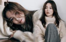 """Chẳng cần phải gồng, Song Hye Kyo cứ diện tóc nâu môi nude """"sương sương"""" là thành nữ hoàng nhan sắc"""