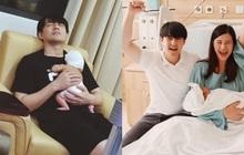 Đông Nhi khoe ảnh ông xã và bé Winnie sau 5 ngày sinh, hé lộ khoảnh khắc cha con cùng ngủ vùi khiến netizen tan chảy