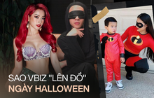 """Khi sao Vbiz """"bung xõa"""" mùa Halloween: Chi Pu hoá tiên cá ngực khủng, ai đọ được màn hóa trang thành Suboi và Jennie của Nicky đây?"""