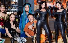 Dàn sao hoá trang Halloween trong tiệc sinh nhật nhà Diệp Lâm Anh: Kỳ Duyên - Minh Triệu sexy, vợ chồng Cường Đô La cũng có mặt
