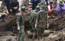 14 người còn mất tích trong vụ lở núi ở Trà Leng: Đào xới hết hiện trường nhưng không thấy ai, sẽ dùng 20 cano để tìm kiếm trên sông
