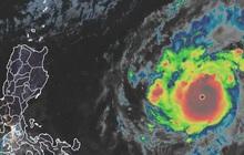 Siêu bão Goni mạnh nhất năm 2020 đang di chuyển về phía Philippines
