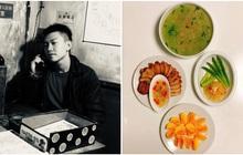 """Chàng du học sinh Nhật """"trình làng"""" BTS mâm cơm tự nấu, hội gái tìm chồng tranh nhau chốt đơn"""
