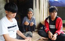 """Bố mẹ mất khi đi làm thuê, 2 anh em sống lay lắt bên bà ngoại già yếu: """"Có bữa nhà hết gạo, con phải nhịn đói đi học"""""""