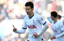 Son Heung-min ghi bàn phút 90+4' giúp Tottenham thắng trận siêu kịch tính, đồng thời lập thành tích chưa từng có tại giải Ngoại hạng Anh