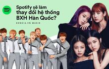 """Spotify đổ bộ Hàn Quốc: nguy cơ bị 5 """"ông lớn"""" đè bẹp hay là """"kẻ thay đổi cục diện"""" trên mặt trận nhạc số, món hời khổng lồ 1 nghìn tỷ won bị chia năm xẻ bảy?"""