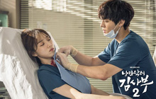 """Lee Sung Kyung cười ngất vì được trai đẹp bún bò """"mơn trớn"""" cổ ở hậu trường hài hước của Người Thầy Y Đức 2""""?"""