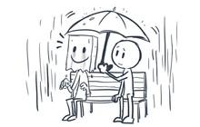 Bộ tranh: Sự trầm cảm vốn không có âm thanh, ai cũng có thể là nạn nhân của nó