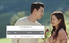 Vượt mặt bom tấn Goblin, Crash Landing on You cán mốc rating cao nhất lịch sử đài tvN