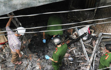Cháy ở phòng kế toán trụ sở UBND, 1 nam kế toán xã tử vong