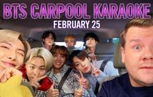 BTS trở thành nhóm nhạc KPop đầu tiên tham gia show karaoke đình đám toàn nước Mỹ