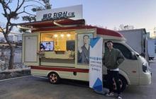 """Chiếc xe đồ ăn hot nhất lúc này: do nam tài tử """"Ký sinh trùng"""" Choi Woo Sik tặng cho """"đại gia"""" Park Seo Joon của Tầng lớp Itaewon"""