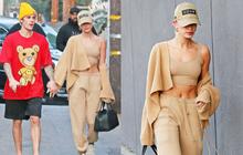 Vừa thừa nhận quá khứ với Selena, Justin Bieber đã cùng vợ tình tứ dạo phố, nhưng sao biểu cảm của Hailey đáng lo quá?