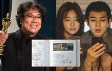 Tiết lộ sổ tay vẽ phác thảo Parasite của đạo diễn Bong Joon Ho, ai cũng khen nức nở vì độ tỉ mẩn đến từng chi tiết
